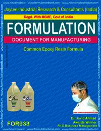 Common Epoxy Resin Formulation