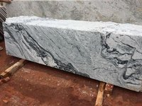 River White Granite Blocks