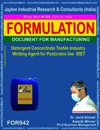 Detergent Concentrate Textile Industry Wetting Agent For Pesticide Like Idet