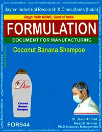 Coconut Banana Shampoo