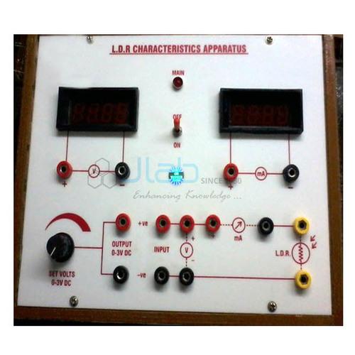 LDR Characteristics Apparatus