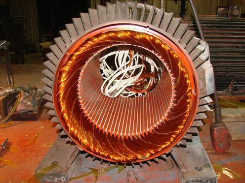 Industrial Motor Winding