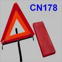 Road Safety Triangle Reflector