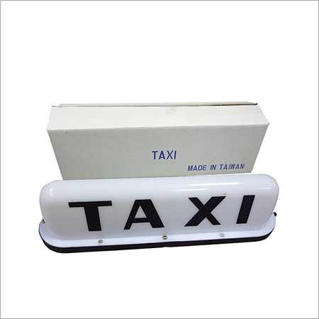 Magnetic Taxi Top Signs