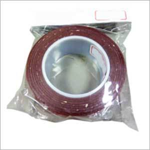 Red color 40mm x 5 m heavy duty acrylic double sided self adhesive