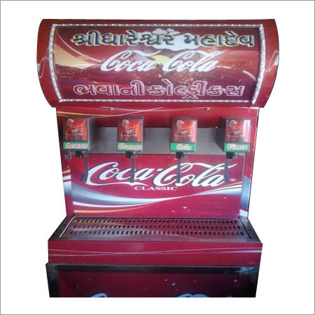 4 Flavour Soda Machine