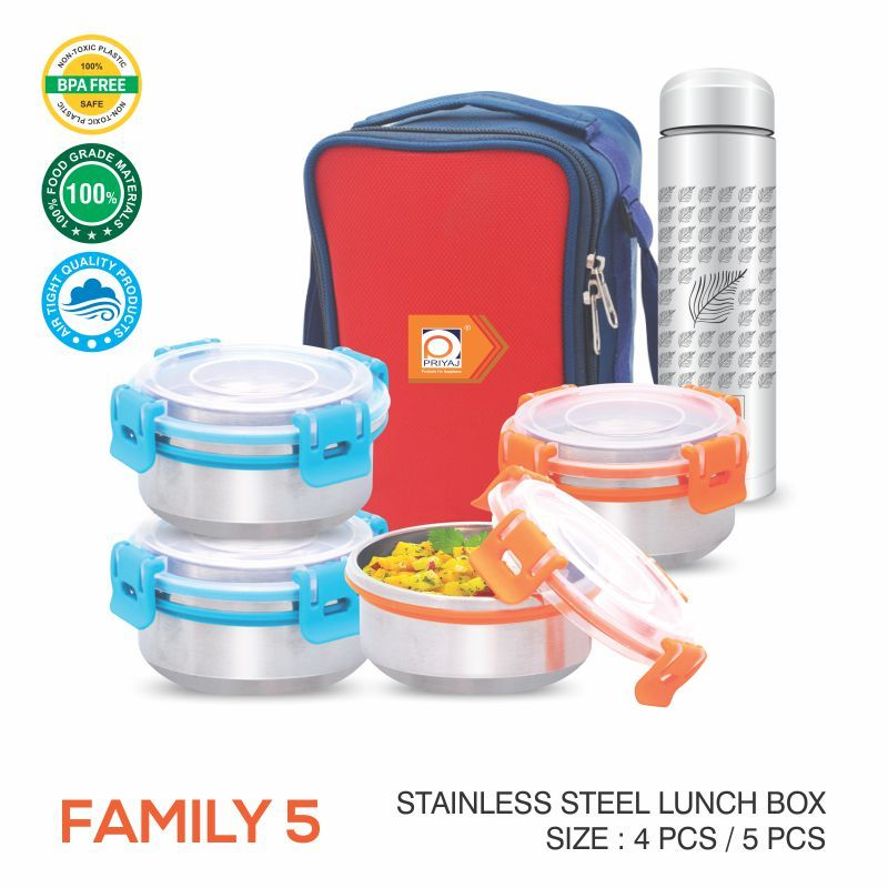 FAMILY AIR TIGHT LUNCH CARRIER