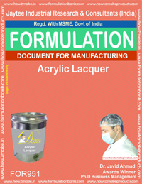 Lacquers and Sealer Formulations