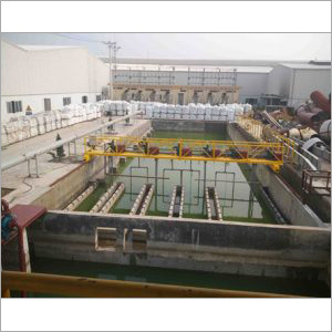 Pond Type Wastewater Treatment System