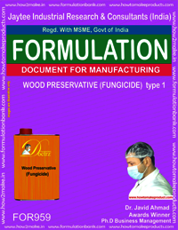 WOOD PRESERVATIVE (FUNGICIDE) type 1