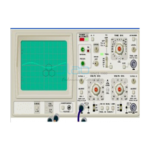 Demonstration Cathode Ray Oscilloscope CRO