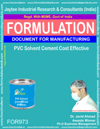 Solvent Cements & Liquid Welding Formulations