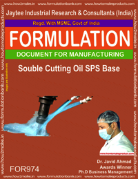 Soluble Cutting Oil SPS Base