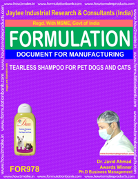 TEARLESS SHAMPOO FOR PET DOGS AND CATS