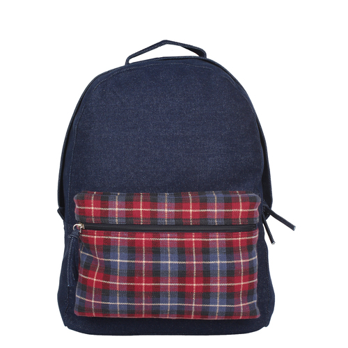 Anekaant Classic Blue Denim Backpack