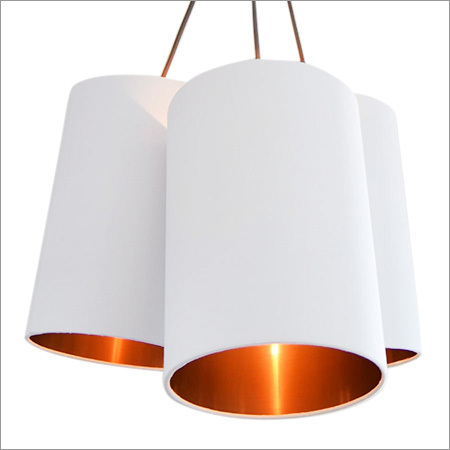 Brushed Copper Lined Lamp Shade