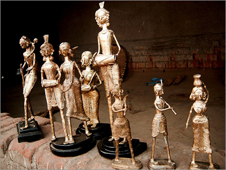 Metal Handicraft Tribal Statues