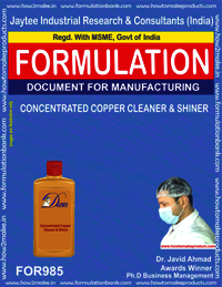 CONCENTRATED COPPER CLEANER &SHINER