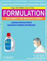 Concentrated Parts Washing Powder Detergent