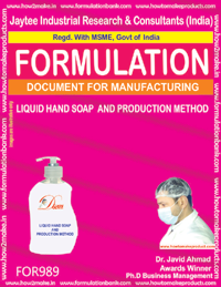 Hand Wash Soap Formulations