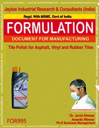 Tile Polish for Asphalt, Vinyl and Rubber Tiles