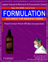 Thick Furniture Polish (PE wax incorporated)