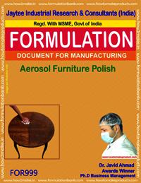 Aerosol Furniture Polish type 2