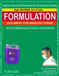 Aerosol Multipurpose Cleaner Cum Polishes