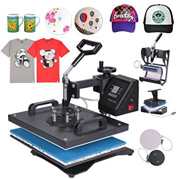 5in1 Heat Press Machine