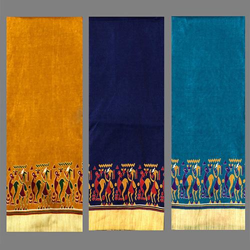 Fancy Printed Silk Saree