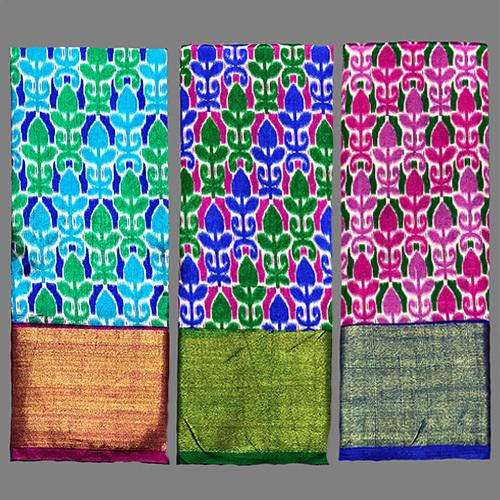 Pure Ikkat Silk Saree