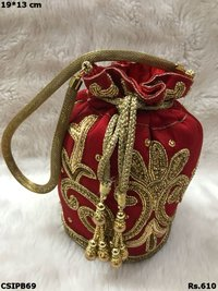 Embroidered Polti Bag