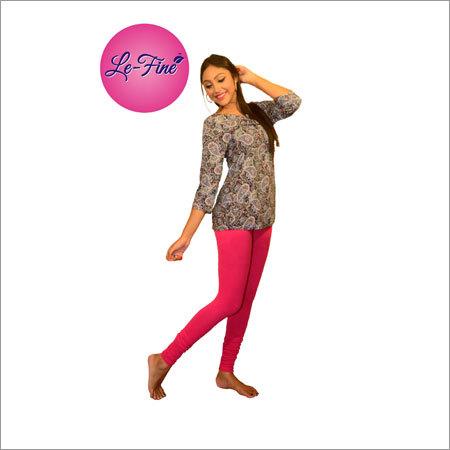 Light Pink Churidar Leggings