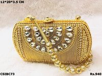 Indian Beautiful Metal Clutch