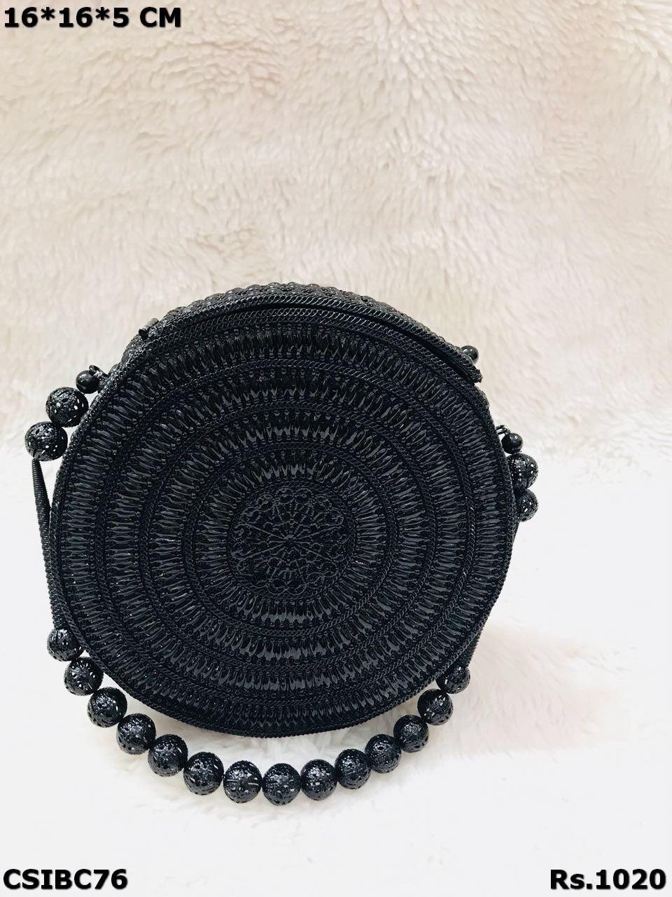 Round Shape Metal Clutch