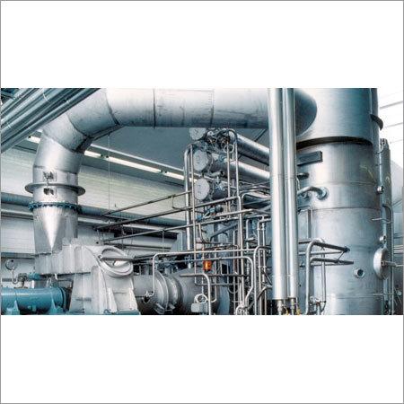 MVR Heated Evaporation Plants
