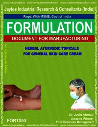 Herbal Ayurvedic Topicals for General Skin Care Cream