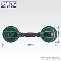 FIRSTINFO Heavy Duty Double Head Suction Cup