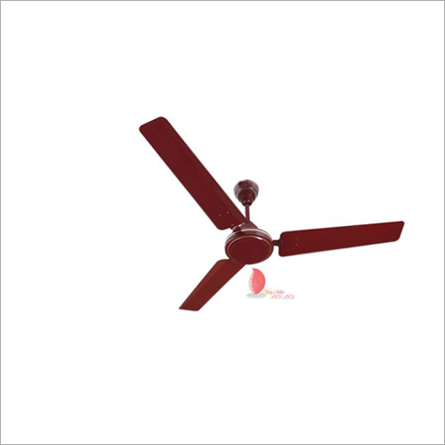 Brown Solar Ceiling Fan