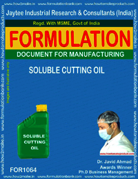 Formula for Soluble Cutting Oil