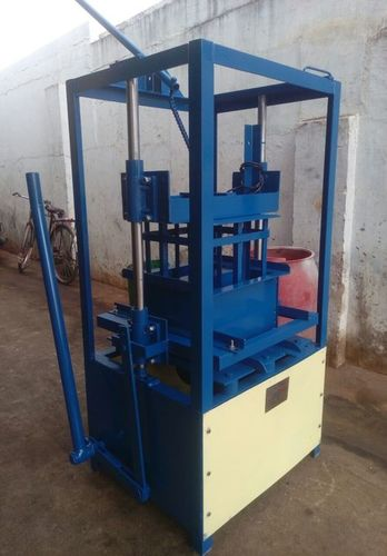 Hand Operator Hollow Block Making Machine