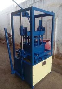 Hand Operated Hollow Block Making Machine