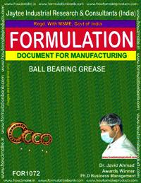 Formula for Ball-Bearing Grease