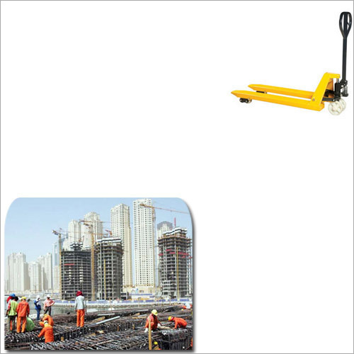 Hydraulic Pallet Truck for Construction Industry