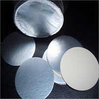 Plain Aluminium Foil Lid