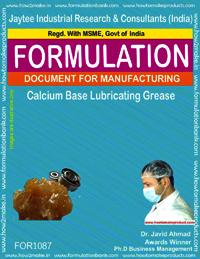 Calcium Base Lubricating Grease