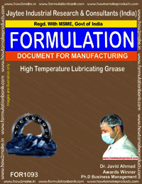 High Temperature Lubricating Grease