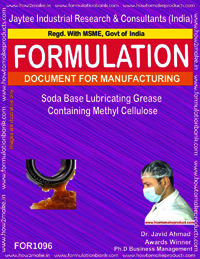 Soda Base Lubricating Grease Containing Methyl Cellulose
