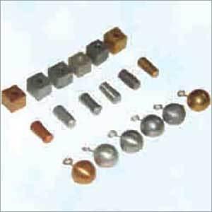Cubes Cylinder Pendulum Bobs Set of 6