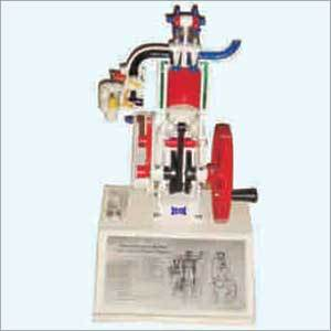 Petrol Engine Model 4 Stroke